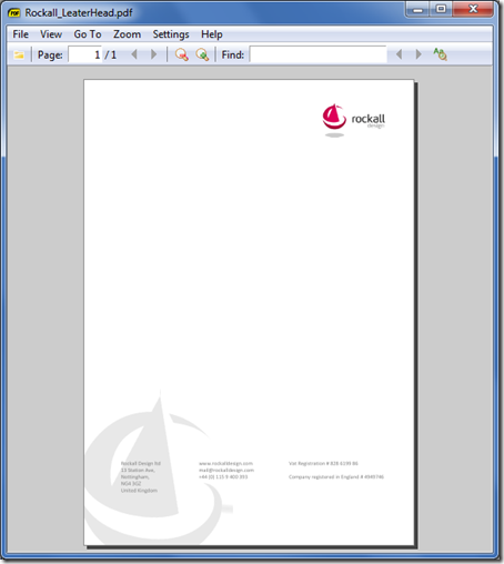 Generating PDF Documents From Templates | Mon 23 Nov 2009