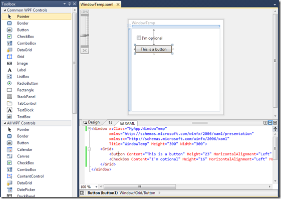 WTF is WPF?   Tue 31 May 2011   Blog   CodeStore