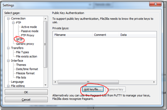SFTP Access To Amazon EC2 Using FileZilla | Wed 12 Oct 2011